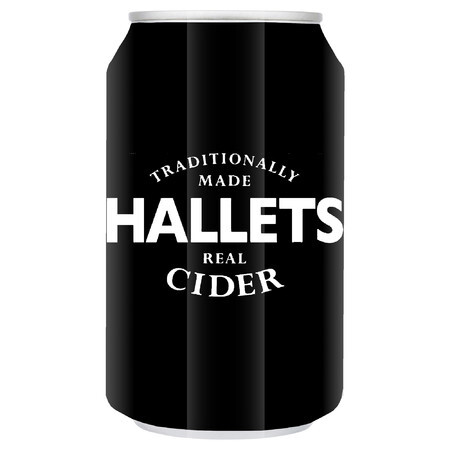 Hallets Real Cider Hallets Cider 330ml Cans – Buy Cider online on EeBriaTrade.com